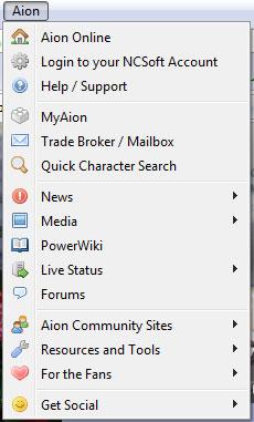 Aion Firefox plugin image