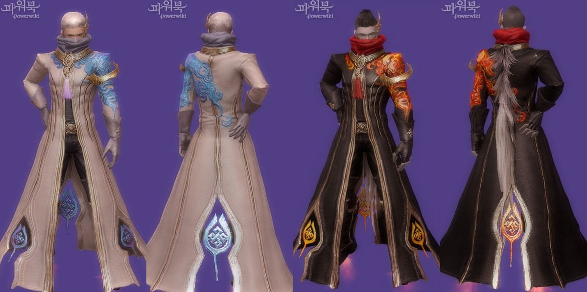 aion 3.0 abyss level 60 eternal armor set male