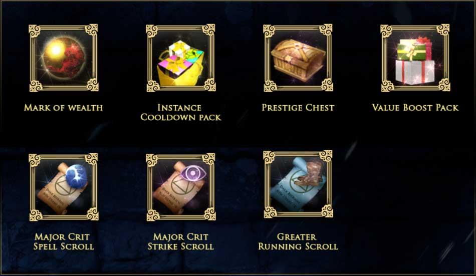 prestige pack