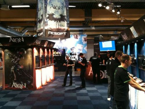 NCSoft Aion Booth